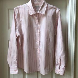 """Worthington """"no-iron"""" cotton blouse. Size 16"""